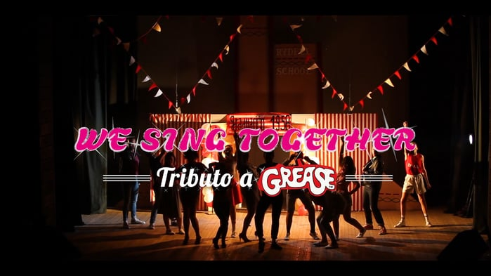 MUSICAL: WE SING TOGETHER. TRIBUTO A GREASE